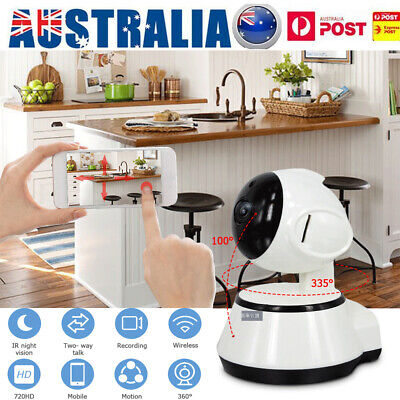 Wifi Security Camera Wireless CCTV IP 720P HD Night Vision Baby Monitor Hot Sale