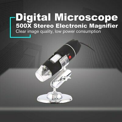 1600X Digital Microscope Three in One USB Endoscope Stereo Camera Microscopio ❃⚡