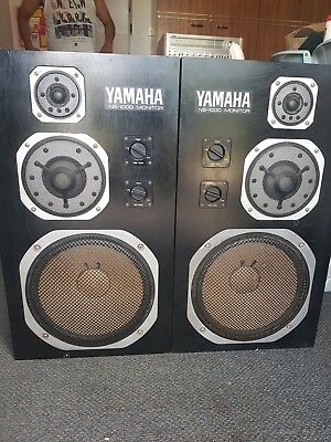 Yamaha NS1000 monitor speakers pair used condition
