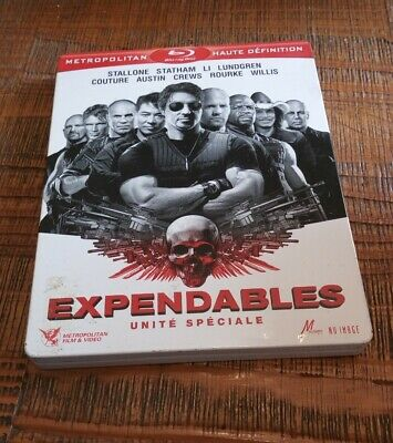 blu-ray expendables unite speciale avec stallone, statham  steelbook