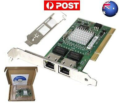 AU INTEL 8492MT 1000 MT Gigabit Dual Port Network Serve Adapter PCI Network Card