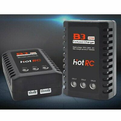 HOTRC B3 20W 1.6A AC Battery Balance Charger for 2S-3S RC LiPo Battery ❃⚡✤