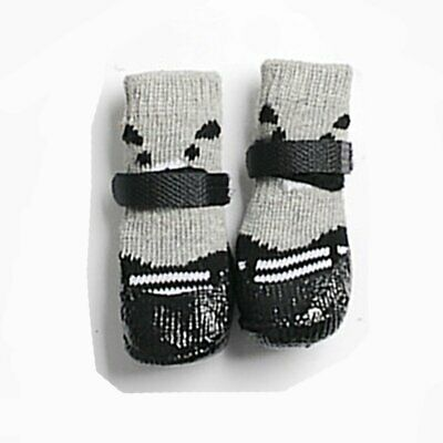 Waterproof Dog Socks Non-Slip Pet Rain Snow Boot Shoes for Injured Paws All AZ