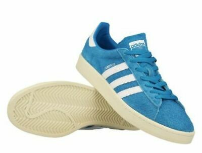the latest 6b362 96ad9 + adidas Originals vintage Campus Trainers Sneakers - Bold Aqua  White Uk  7 S,