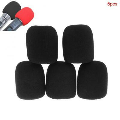 5pcs Universal Thickened Washable Microphone Cover Pop Filter Windscreen Shield