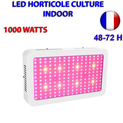 Lampe LED Horticole Culture Intérieur Indoor 1000W à LED 10 W Haute Penetration