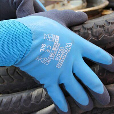 Duogeili Gloves Cut Proof Resistant Waterproof Garden Emulsion Gloves WG-318 AZ