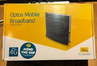 HUAWEI OPTUS 4G WIRELESS ROUTER LTE B593u-12 - BRAND NEW IN BOX - FREE POSTAGE