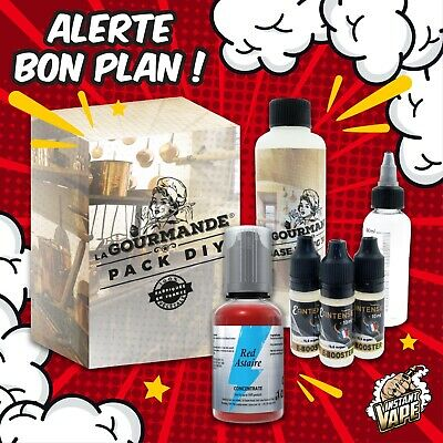 e liquide RED ASTAIRE - Pack diy complet  230 ml - 3,6,9,12 mg -T-JUICE