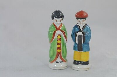 Vintage Michigan City IND Souvenir Salt And Pepper Shakers Asian Made in Japan