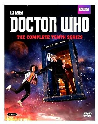 Doctor Who: The Complete Tenth Series Season 10 (DVD, 2017, 5-Disc Set) New