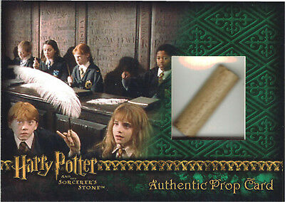 Harry Potter Sorcerer's Stone SS Prop Card 10 Case Incentive Wand 066/205
