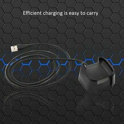Charging Cradle Dock USB Data Cable Base Desktop Charger For Fitbit Watch✳★