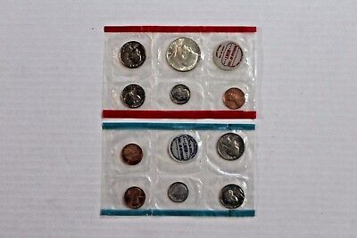 Genuine United States Mint 1969 Uncirculated Coin Set
