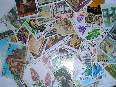 Greece Postage Stamps over 100 stamps mixed  great condition