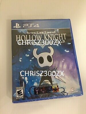 Hollow Knight Standard Regular Physical PS4 Playstation 4 + Map USA Region Free