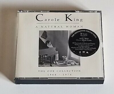 """Carole King """"A Natural Woman: The Ode Collection 1968-1976""""  2-CD Set"""