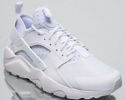 sale retailer 2c040 52efc Nike Air Huarache Run Ultra Men s New White Casual Lifestyle Sneakers  819685-101