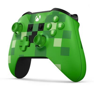 Microsoft WL3-00057 Xbox One & ONE S Kabelloser Controller - Minecraft creeper