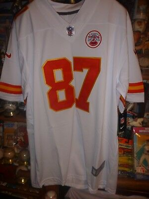 Discount NIKE NEW TRAVIS Kelce Kansas City Chiefs NFL Jersey NWT MSRP $100