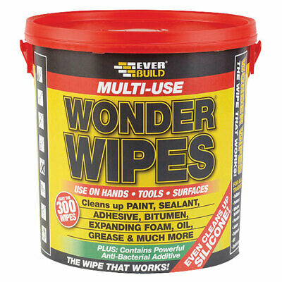 Everbuild GIANTWIPE Giant Wonder Wipes Tub x 300