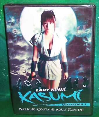 New Lady Ninja Kasumi Collection 1 One Volumes 1- 3 Japanese Movie 3 Disc Dvd