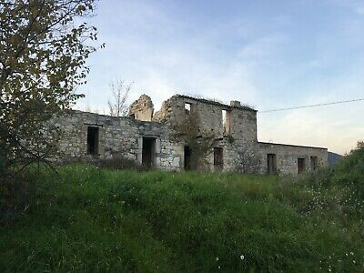 Part Renovated Property & 7000 Sqm Land In Italy