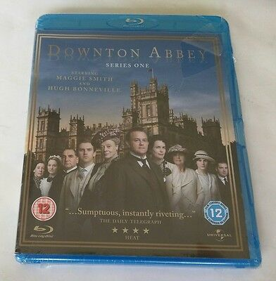 "Masterpiece: Downton Abbey - Season 1 (Blu-ray Disc, 2010, 2-Disc Set)  ""NEW"""