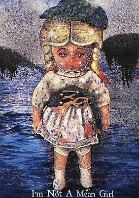 Aceo Limited Edition Print Original Creepy Girl Doll Jocelyn Bullock Art