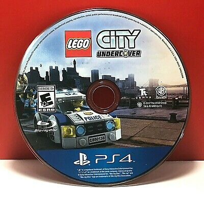 LEGO City Undercover (Sony PlayStation 4, 2017)(DISC ONLY) #20505