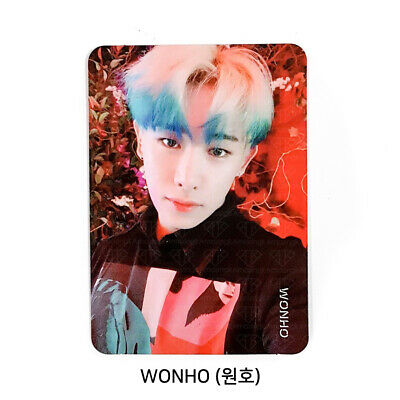 MONSTA X - 2nd Album Take.2 'We Are Here' Official Photo card - WONHO #05
