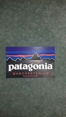 Rare Patagonia Manchester Sticker