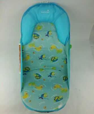 Summer Infant Deluxe Baby Bath Support Seat Pillow Newborn Tub Sink Adjustable