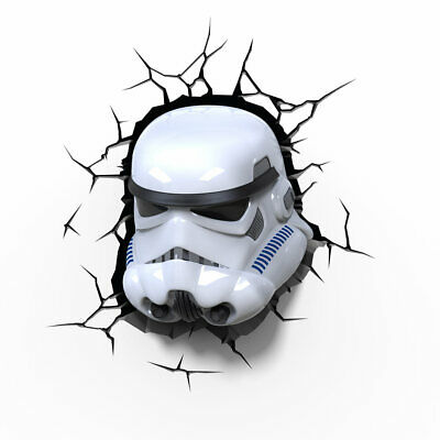 Star Wars Lampada Led 3D Storm Trooper