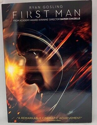 First Man Brand - New Factory Sealed Dvd, 2019 W/slip Cover