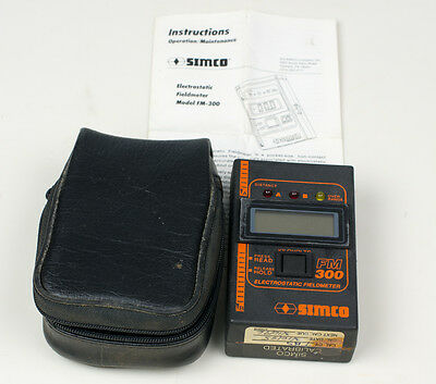 Simco FM300 Electrostatic Fieldmeter, Includes: Case - USED ONCE