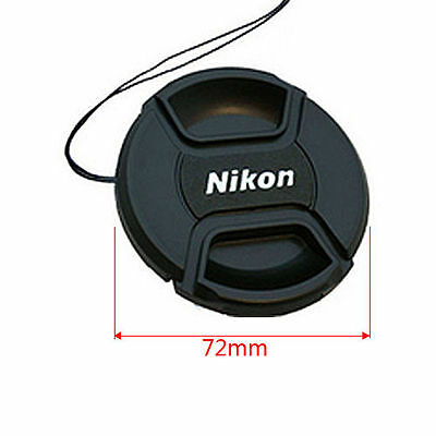 72mm Nikon Lens Cap Cover Keeper Front for Canon Nikon D5 D800 D3200 D5200 D7100