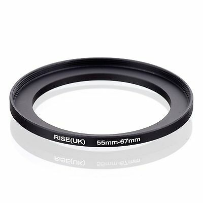 55mm-67mm 55mm to 67mm  55 - 67mm Step Up Ring Filter Adapter for Camera Lens
