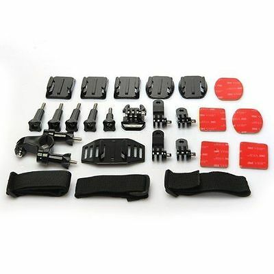 25 1 Accessory Kit Screws Support Camera GoPro Hero March 2 Action Camera