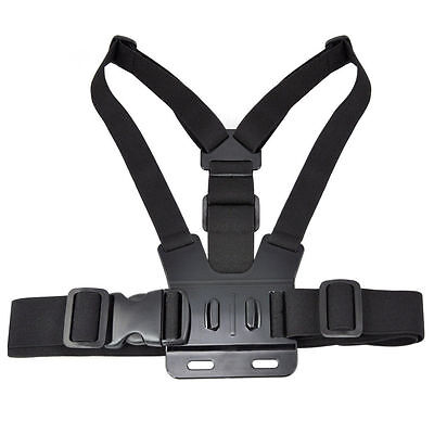 Adjustable Elastic Chest Strap Mount Harness for GoPro HD Hero 12 3 Camera