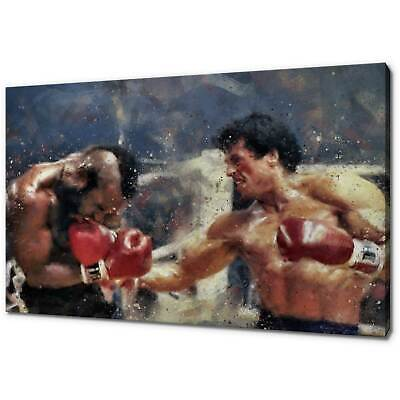 Rocky Iii Canvas Picture Print Concept Wall Art Free Fast Delivery