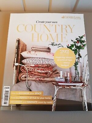 COUNTRY LIVING Create your own Country Home Bookazine, new