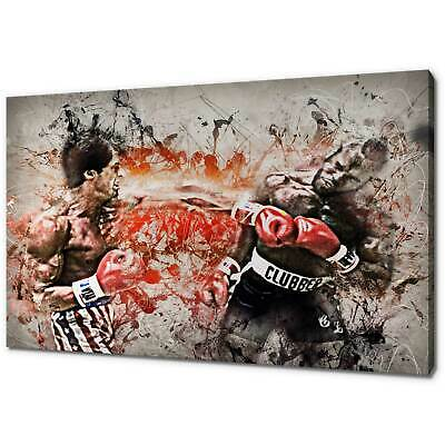 Rocky Iii Mr T Canvas Picture Print Modern Wall Art Free Fast Delivery