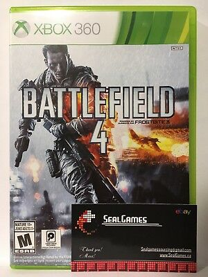 Battlefield 4 (Microsoft Xbox 360, 2013) Very Good Canadian Seller