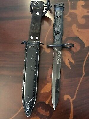 M5 Bayonet With Scabbard Made In The USA Authentic Vietnam Era Knife