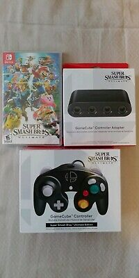 Super Smash Bros. Ultimate Ultimate game controller & adapter