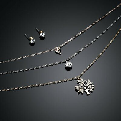 3pcs/set Women Girls Necklace Elegant Wearing Pearl Jewelry Decor 61178073☼~♌