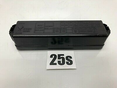 06-10 infiniti m35 m45 front right engine bay relay fuse box cover oem