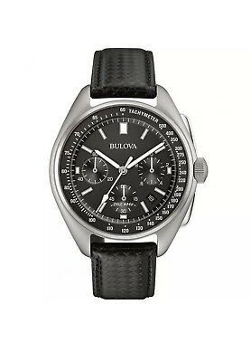 Bulova Men's Special Edition Moon Apollo 15 262Khz Frequency Watch 96B251