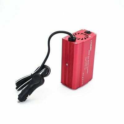 500W Power Inverter Converter DC 12V to AC 100V-130v Car Charger 2 USB Ports☼~♌
